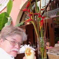 San Juan, Puerto Rico - Sipping on that pina colada.