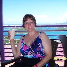 Charlotte Amalie, St. Thomas - Bushwacker drink at Paradise Point.