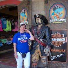 Nassau, Bahamas - My other new boyfriend.