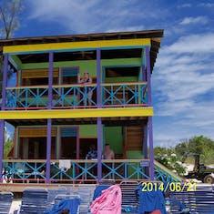 Half Moon Cay, Bahamas (Private Island) - Our beautiful villa at Half Moon Cay.