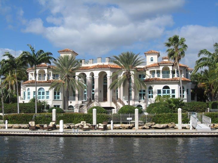 Ft. Lauderdale (Port Everglades), Florida - Ft Lauderdale tour rich & famous