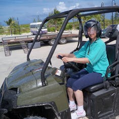 Grand Turk Island - Dune buggy excursion in Grand Turk.