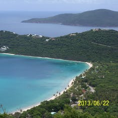 Charlotte Amalie, St. Thomas - Photo from the lookout.
