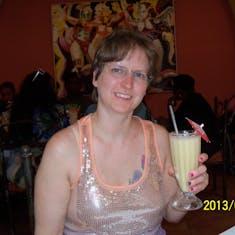 San Juan, Puerto Rico - Having a pina colada at the birthplace of the pina colada.
