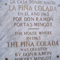 San Juan, Puerto Rico - Birth place of the pina colada.