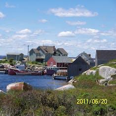 Peggy's Cove.