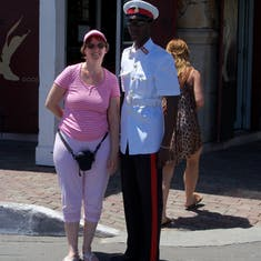 Nassau, Bahamas - My run in with the law in Nassau.