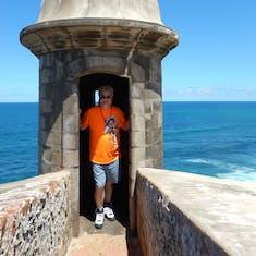 Castillo San Felipe del Morro. San Juan.