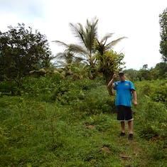 We survived!!! Dominica, rain forest hike to Sari Sari Falls.