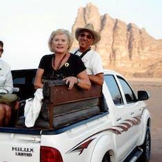 Wadi Rum Jordan 4X4 Drive