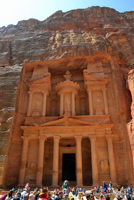 The Treasury, Petra, Jordan  - Amsterdam
