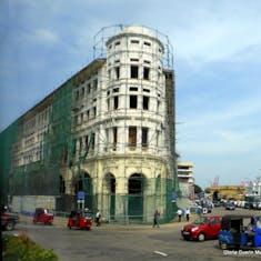 Building near Pettah Bazaar
