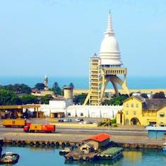 Colombo, Sri Lanka Harbor