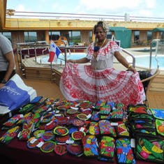 Local Entertainment on Lido Deck