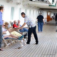 Lemonade served on deck