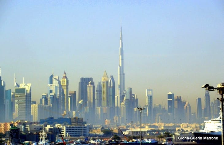 Skyline view of Dubai, UAE - Amsterdam