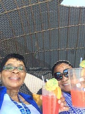 1st Drink of the Cruise