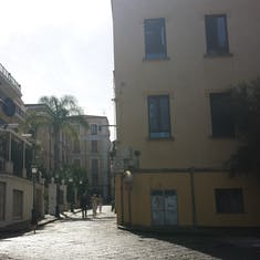 Naples, Italy - Beautiful comfortable Sorrento Streets.
