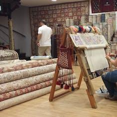 Kusadasi - Turkish Carpet Weaving Demonstration and Explanation