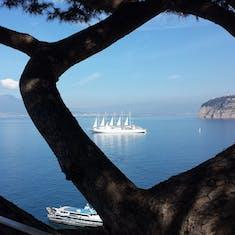 Naples, Italy - Is Sorrento far enough from Mt. Vesuvius?
