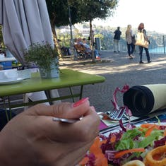 Dining on the Sorrento Coast.