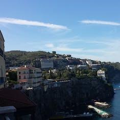 The Sorrento shoreline rivals Santorini for beauty.