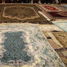 Kusadasi - Turkish Carpet Display