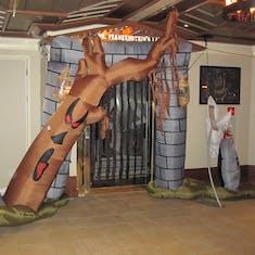 Ship's decor for Halloween