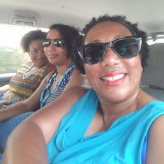 On our way to Snuba in Cozumel