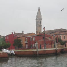 Every tower leans in Venice-Haw
