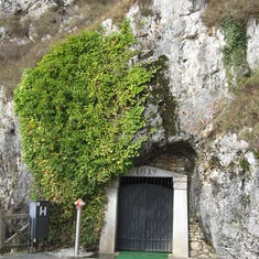 Entrance to 35 miles of Slavonia caves