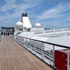 Port Canaveral, Florida - Walking Deck - Sports Deck