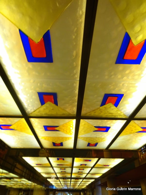 Port Canaveral, Florida - Ceiling of Ship