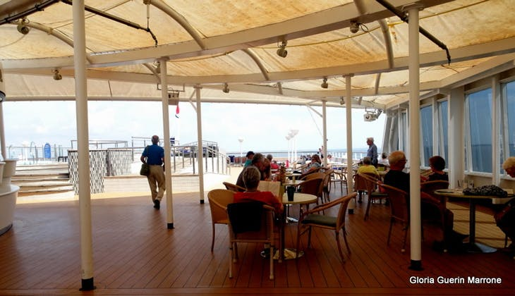 Port Canaveral, Florida - The retreat Aft on Lido Deck