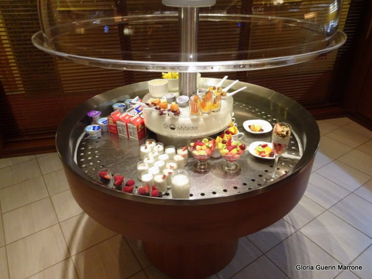 Port Canaveral, Florida - Food Offeringsw at the Pinnacle Lounge