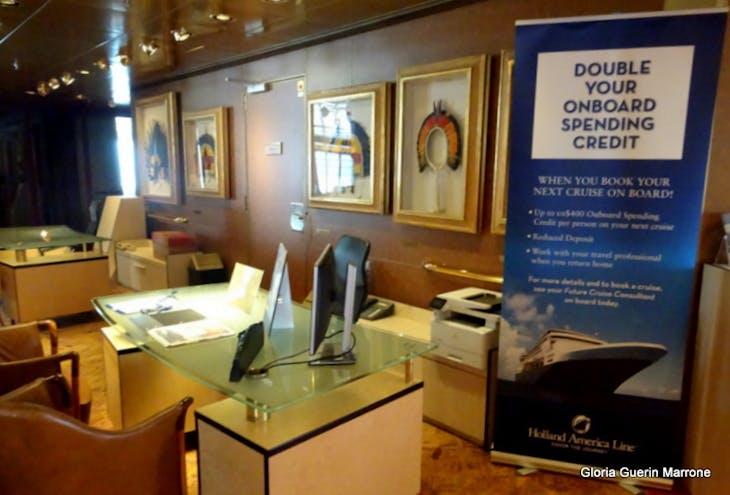 Future Cruise Desk - Veendam