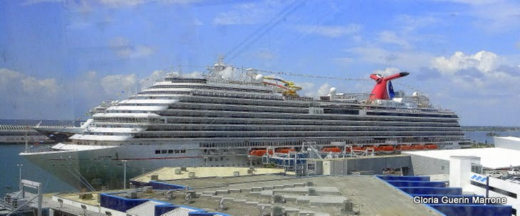 Port Canaveral, Florida - View from Ship of Carnival Magic