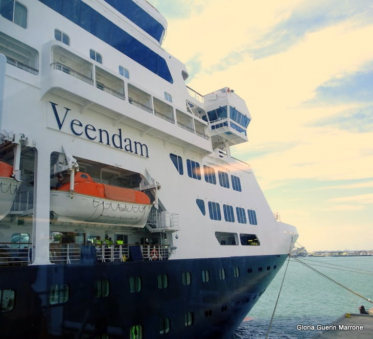 Port Canaveral, Florida - View of Ship From Gangway