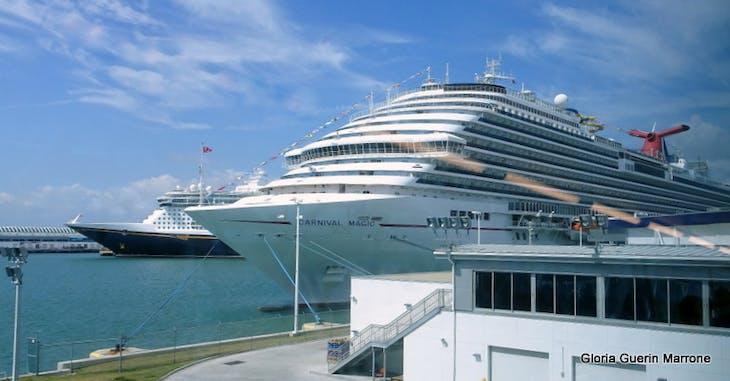 Port Canaveral, Florida - Ships in Port