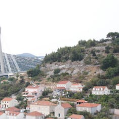 Kotor, Montenegro - View from the ship of a neat bridge