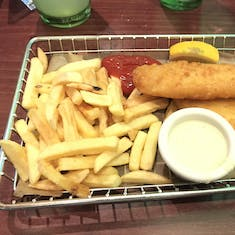 Fish Fry from O'Sheehan's on Deck 8