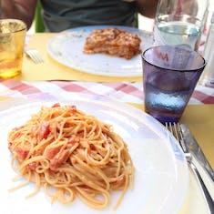 Venice, Italy - Our meal at B Restaurant alla Vecchia Pescheria in Murano.