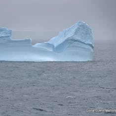 Cruising Through Prince Christian Sound - Huge Iceberg