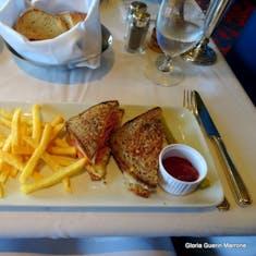 Grilled Reuben Sandwich & Fries - Lunch MDR