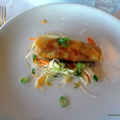 Spring Roll - Appetizer in La Fontaine Restaurant