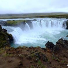 Akureyri, Iceland - Godafodd Waterfall