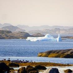 Nanortalik - Greenland - An Iceberg Seen Offshore