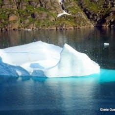 Akureyri, Iceland - Cruising Prince Christian Sound - Iceberg