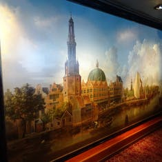 Mural - Explorer's Lounge