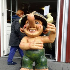 Statue of a Troll